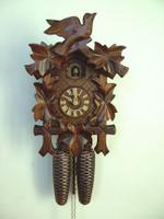 Schneider Bird & Leaf Cuckoo 8-Day Clock 8T 100/9