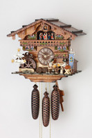 Black Forest Bavarian Chalet Cuckoo Clock 8389