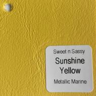 Sheet - Sunshine Yellow Metallic