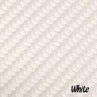 Sheet - White Textured Marine Vinyl