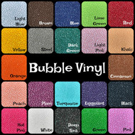 BUBBLE VINYL ROLL