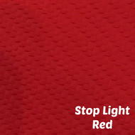 Sheet - Stop Light Red Textured Marine Vinyl