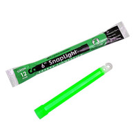 "Cyalume Snaplight 6"" Green 12 Hr Bulk"