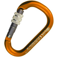 Kong HMS NAPIK Screw Carabiner Orange