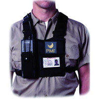 PMI® Radio Chest Harness Black