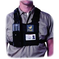 PMI® Radio Chest Harness Black