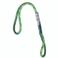 """PMI® Sewn Prusik Loop 8mm x 16"""" Green"""