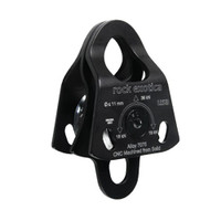 Rock Exotica P21_D-B Mini Machined Pulley Double - Black