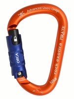 Rock Exotica C1_O Pirate ORCA-Lock carabiner