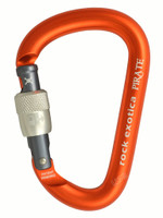 Rock Exotica C1_S Pirate Screw Lock Carabiner