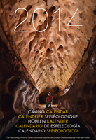 Speleo Projects 2014 caving calendar