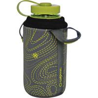 Nalgene Bottle Sleeve Gray/Green 32 oz