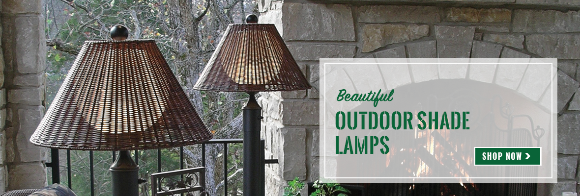 Outdoor Shade Lamps