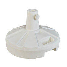 Umbrella Stand for Freestanding Umbrellas 50lb - White