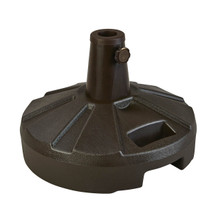 Umbrella Stand for Freestanding Umbrellas 50lb - Bronze