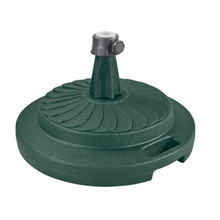 Umbrella Stand for Freestanding Umbrellas with Easy Move Roller 95lbs - Green