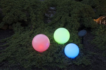 GardenGlo Solar Orb Color Changing LED