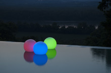 LED Color Changing Floating Orbs