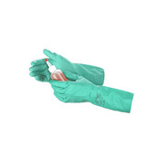 Ansell - Gloves - Size 10 Green Sol-Vex 13' Unlined 11 Mil Nitrile Glove with Sandpatch Finish and Straight Cuff