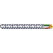 Southwire - Cable - 250 Ft. 12 Ga 3-Conductor Aluminum and Metal Solid Clad In Silver