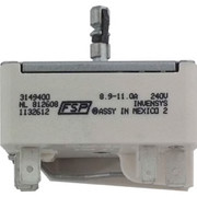 Whirlpool - Infinite Switch for Range - 6 In. Infinite Switch for Whirlpool 4rf315pxeq0 Electric Range