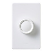 Lutron Electronics - Receptacles - Dimmer Replacement Knob In White