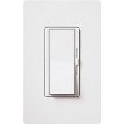 Lutron Electronics - Receptacles - 1-Pole 3-Way Dimmer In White