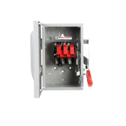 Siemens - Circuit Breaker - 250/480/600v 30a 3-Pole Non-Fusible Safety Switch