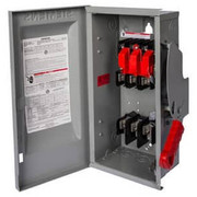 Siemens - Circuit Breaker - 30a 2-Pole 3-Wire Fusible Safety Switch with Neutral