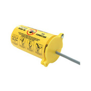 Brady - Plug Lockout - 3' X 5 1/2' Yellow Thermoplastic 3-In-1 Plug Lockout with 2 Sliding Top Lids