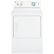 GE General Electric - Tumble Dryer - Ge 6.8 Cu. Ft. Gas Dryer Dryer, Frnt, GAS,6.8CUFT, White