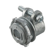 """Raco - Hubbell - 3/4"""" In. Die Cast Zinc Straight Squeeze Connector"""