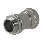 """Raco - Hubbell - 3/4"""" x 3/4"""" in. Steel Compression Connector"""