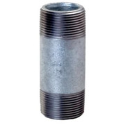Pipe Fittings  - Nipple - 1/8 X 1-1/2 Galvanized Steel Nipple