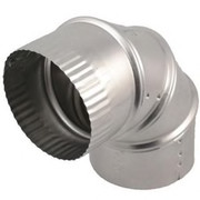 Deflect-o - Dryer Duct - 4 90 Elbow Aluminum