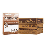 Boise - Copy Paper - ASPEN Multipurpose Paper, Letter Paper Size, 20 Lb, 100% Recycled FSC Certified, 500 Sheets Per Ream, Case of 10 Reams