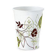 Dixie - Paper Cups - Paper Hot Cups, 8 Oz. , Pathways Design, Box of 25  - Dixie Paper Hot Cups, 8 Oz.
