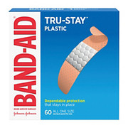 Band-AID - Bandage - Plastic Bandages, One Size, Box of 60  - Band-Aid Plastic Bandages