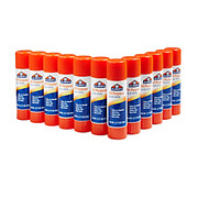 Elmer's - Glue Sticks - Office Strength Glue Sticks, All Purpose, 0. 77 Oz, Clear, Pack of 12 - Elmers Office Strength Glue Sticks