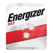 Energizer® - Battery - 1. 5-Volt Calculator/watch Battery, 357, Pack of 3 - Energizer® Small Electronic Batteries