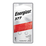 Energizer - Batteries - Coin Cell Batteries, 377, Pack of 2  - Energizer Coin Cell Batteries