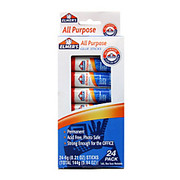 Elmer's - Glue Sticks - All-Purpose Washable Glue Sticks, 0.21 Oz, White, Pack of 24 - Elmers All-Purpose Washable Glue Sticks