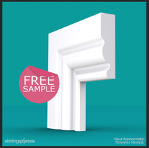 Ogee III Architrave Sample