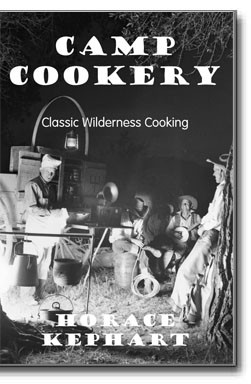 Originally published in 1910, this book gives all the near lost secrets of successful camping from building fires, proper kit contents and proven recipes.