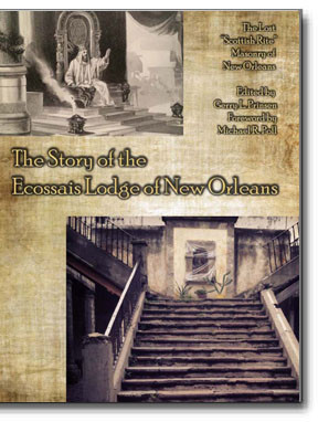 This is The Story of the Ecossais (Scottish Rite) Lodge of New Orleans.Unlike other editions, this edition contains a photographic reproduction of the original handwritten French text, a French transcription and an English translation.