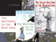 The Brotherhood of the Rosy Cross by A. E. Waite, The Masters and The Path by C.W. Leadbeater Foreword by Annie Besant, and The Secret Doctrine of the Rosicrucians by Magus Incognito