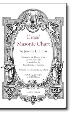 Cross' Masonic Chart by Jeremy L. Cross - William M. Cunningham, Editor