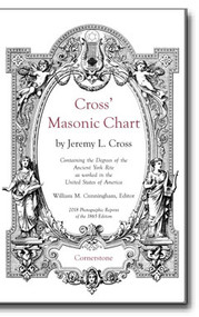 Cross' Masonic Chart by Jeremy L. Cross - William M. Cunningham, Editor
