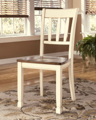 Whitesburg Brown/Cottage White Dining Room Side Chair(Set of 2)