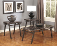 Paintsville Bronze Finish Occasional Table Set